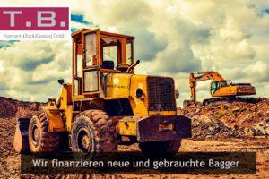 Neue und gebrauchte Bagger finanzieren
