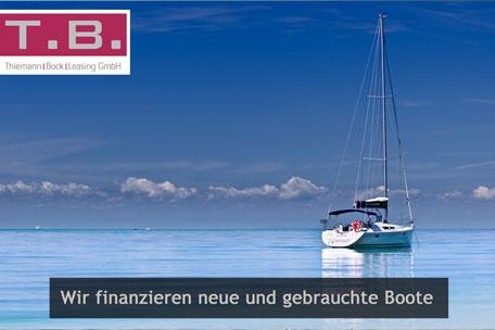 Bootsfinanzierung, Yachtfinanzierung, Schiffsfinanzierung mit Ratenkrediten