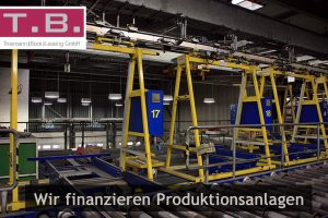 Neue und gebrauchte Produktionsanlagen finanzieren